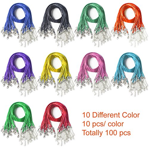 Buy 2mm satin cord multi colour pack