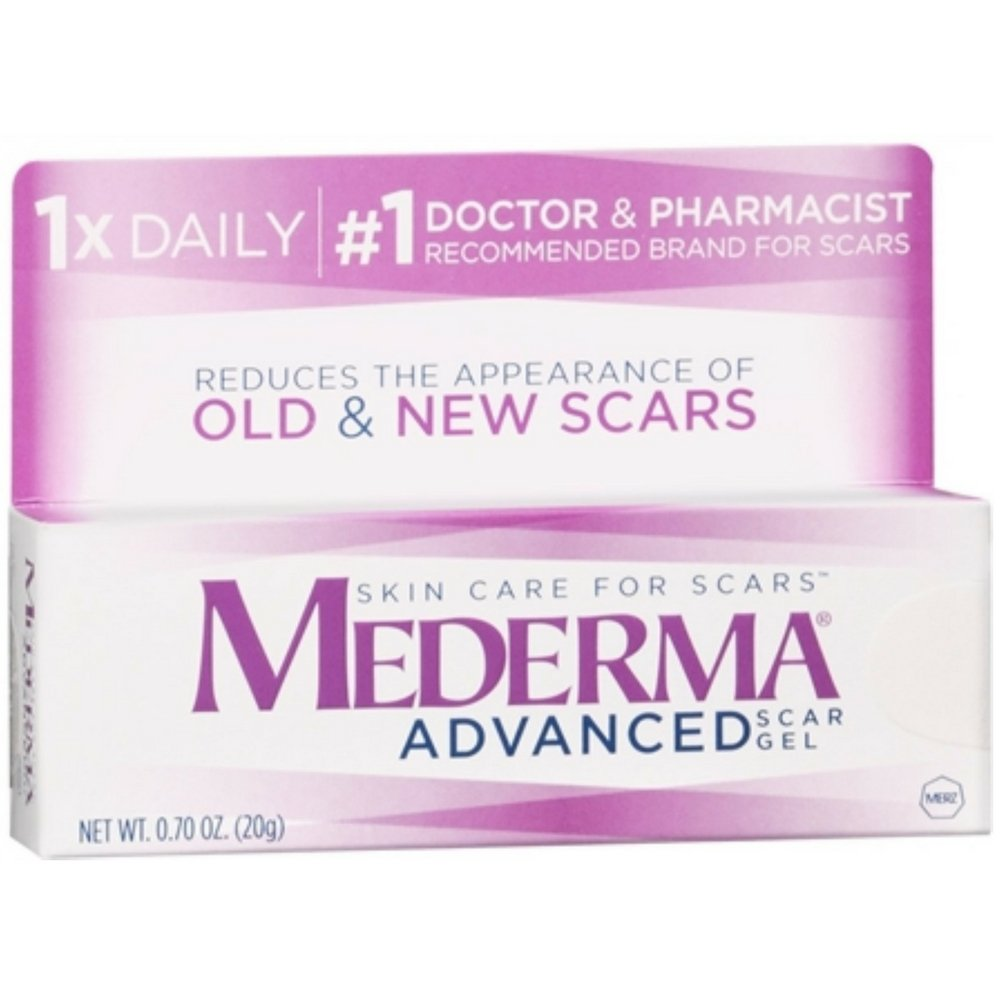 Mederma Advanced Skin Care Gel 20 g (Pack of 7)