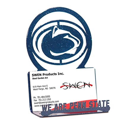 Amazon swen products penn state nittany lions business card swen products penn state nittany lions business card holder colourmoves