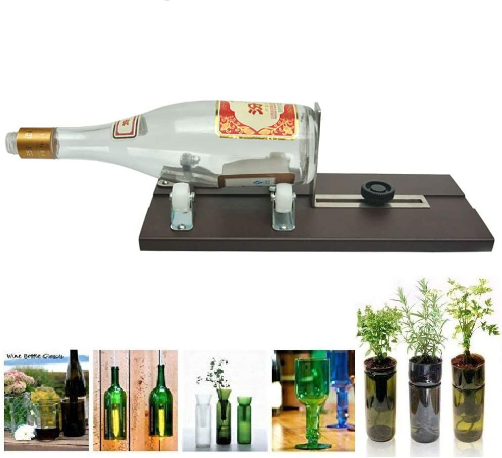 Cortador de botellas de cristal, cortador de botellas de vino ...