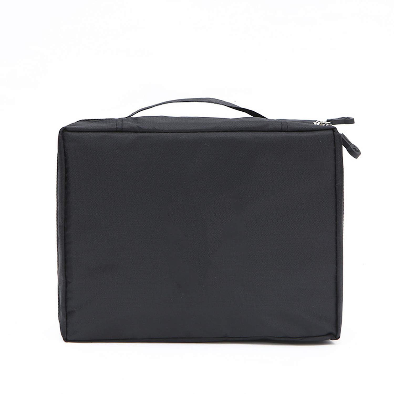 B07Y9Y85WH HappJin Make Up Bag Women Waterproof Cosmetic Travel Organizer For Toiletries Toiletry Kit,Onesize,Bluecherry 615ur0D46RL