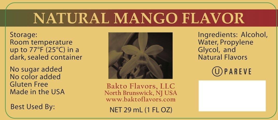 Bakto Flavors Natural Mango Extract, (1FL OZ) Pack of 3 by Bakto Flavors (Image #4)