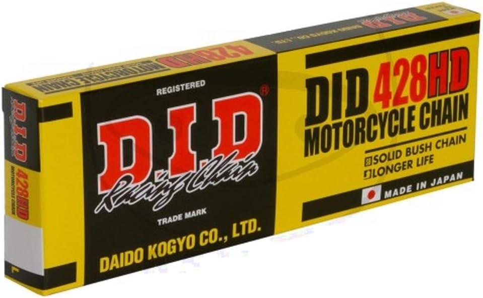 DID Kette Standard 428HD//088/Kette Offen mit Clip Verschluss