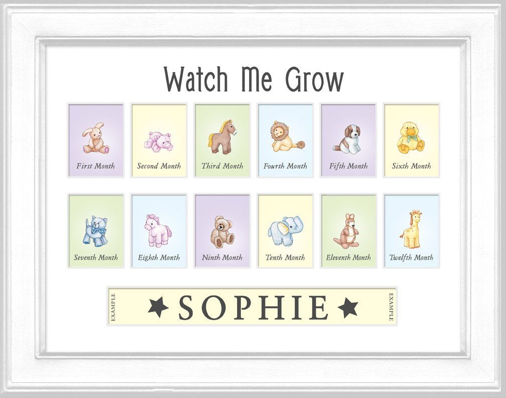 Watch Me Grow Photo Frame White Amazonca Baby