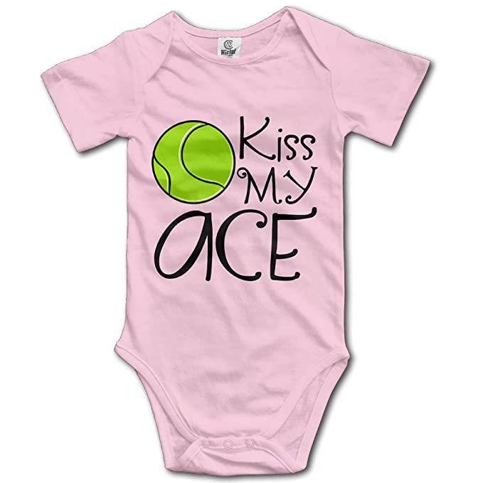 Kiss My Ace de manga corta bebé Onesies bebé Pelele Body Kid s Natural mejor