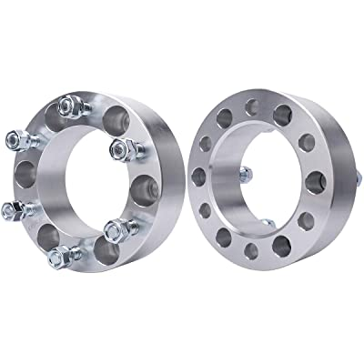 MAYASAF Wheel Spacer Adaptor for Toyota Tacoma/Tundra/4Runner/Sequoia, Mazda Mitsubishi Isuzu Pickup, Chevy GMC Dodge Lexus Honda Hyundai Plymouth Acura, 6X5.5/108mm Bore, [6 Lugs, 2 Inch, 2 Pack]: Automotive [5Bkhe1012394]