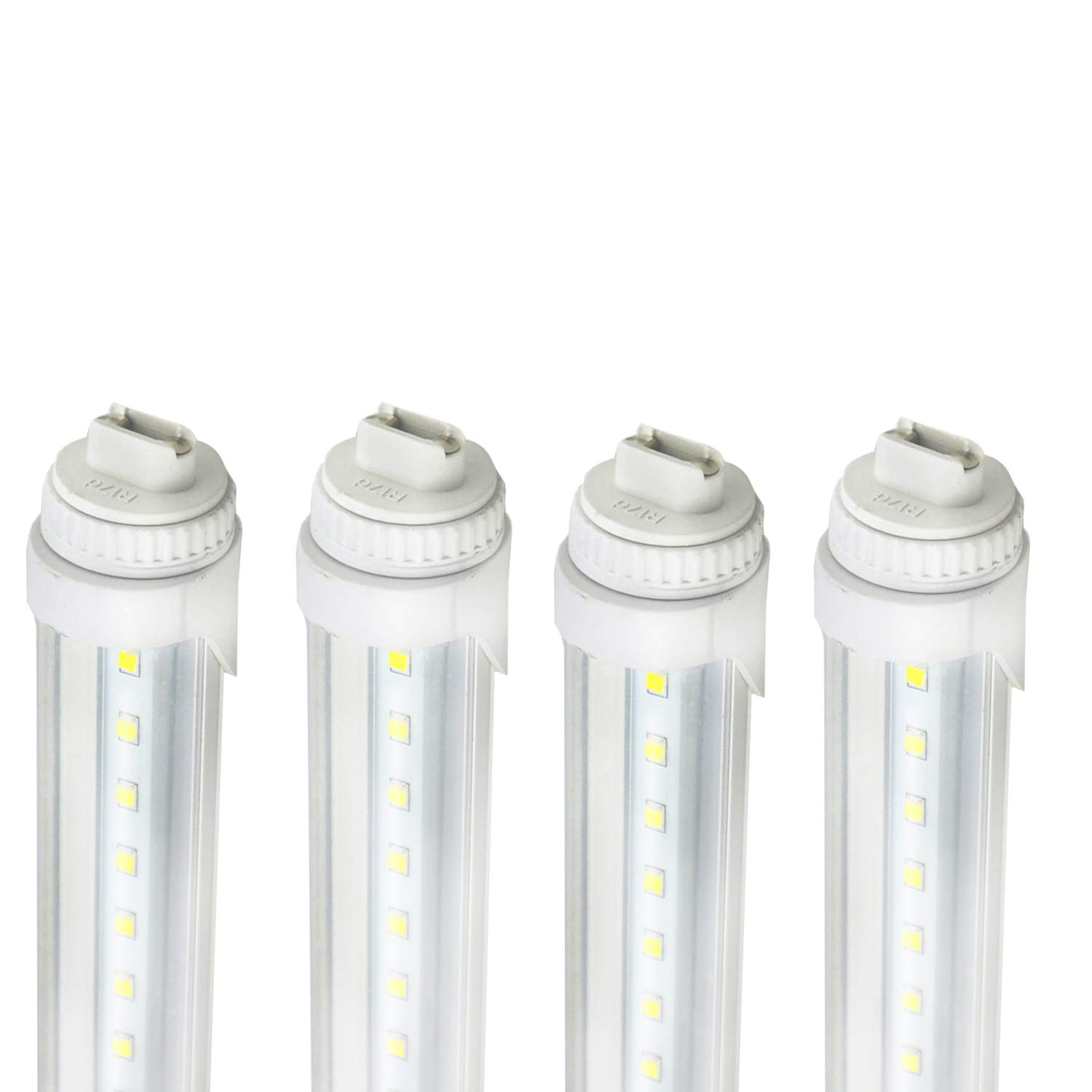30W R17D Base 6 Feet LED Tube Light Fluorescent Replacement for F72T12/CW/HO (R17D 6FT 4Pack)