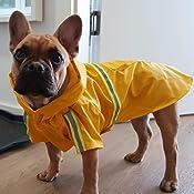 c9fb9ab5a44d2c KaKa Mall Hund Regenmantel Verstellbare Regenjacke Leicht ...