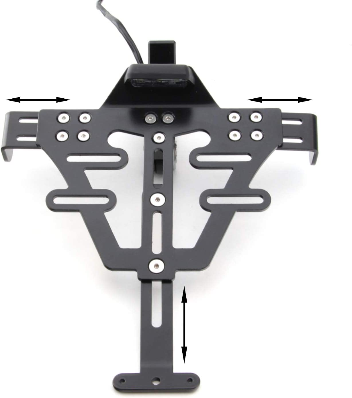 1050 T509 Universal Kennzeichenhalter kompatibel mit Triump-h Speed Triple R
