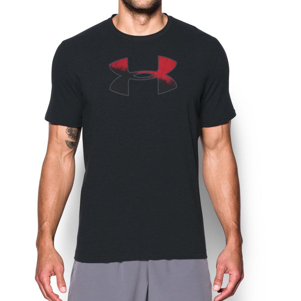 Under Armor Mens Gradient Big Logo T-Shirt