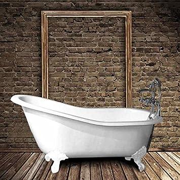 Le Monde Du Bain Baignoire En Fonte Petite Taille Ashford Blanche 138 Cm
