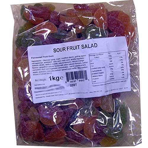 Goody Good Stuff Sour Fruit Salad, 2.2 lbs