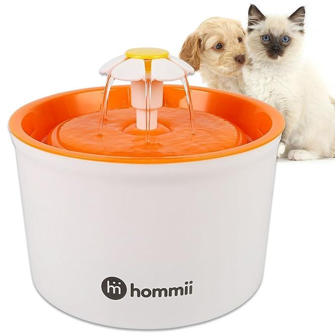 150 opinioni per Hommii HP-88 Fontana d'Acqua per Gatto e Cane Automatic Electric 1.6 L Fontana