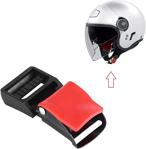 Qiilu 5 Stücke Motorrad Helm Clip Schnallen Kinnriemen Schnellverschluss Trennen Schnalle Sport Freizeit