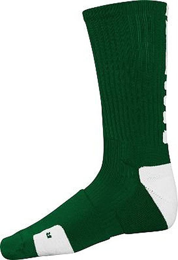 Nike Men/'s Dri Fit Vapor Elite Socks PSX300-900 Black Grey Football Basketball