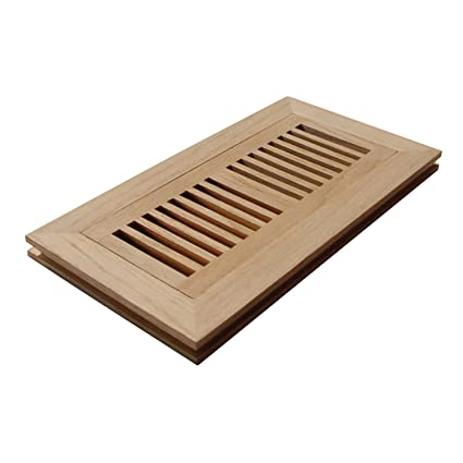 Naiture 2 14 X 10 Flush Mount Wood Floor Register Vent Cover