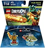 Excalibur Batman + The Lego Movie Bad Cop + Legend Of Chima Eris and Kragger Fun Packs - LEGO Dimensions - Not Machine Specific