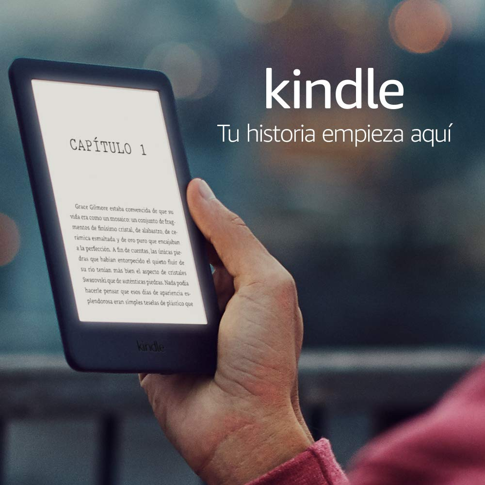 ebook con luz amazon kindle