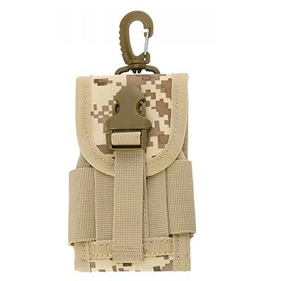MOLLE militaire tactique, sac de Holster, sac de support, étui tactique extérieur Holster Molle Hip ceinture, bourse de poche de portefeuille, étui de téléphone, poche de gadget