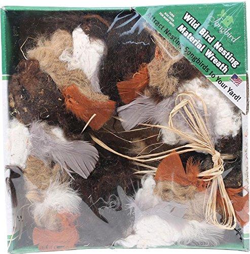 SONGBIRD ESSENTIALS SEWF91008 Nesting Material Wreath (Nesting Material Wreath)