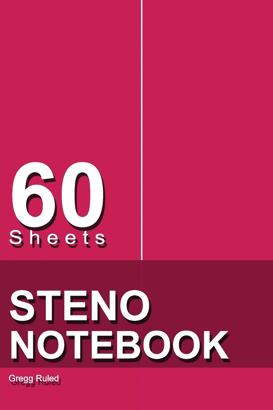 "Read Online Steno Notebook: 6"" x 9"", 60 Sheets, Writing Pad for Notes,Gregg Ruled, (Red)-[Professional Binding] pdf"