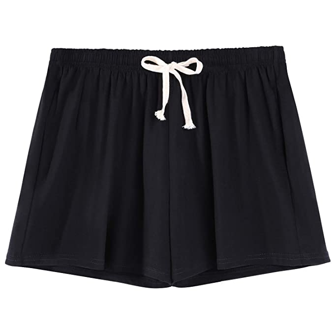 35bc5618cf9 HBY Black Pajama Shorts for Women Sleep Shorts for Women Lounge Shorts  Women Sleep Shorts Women