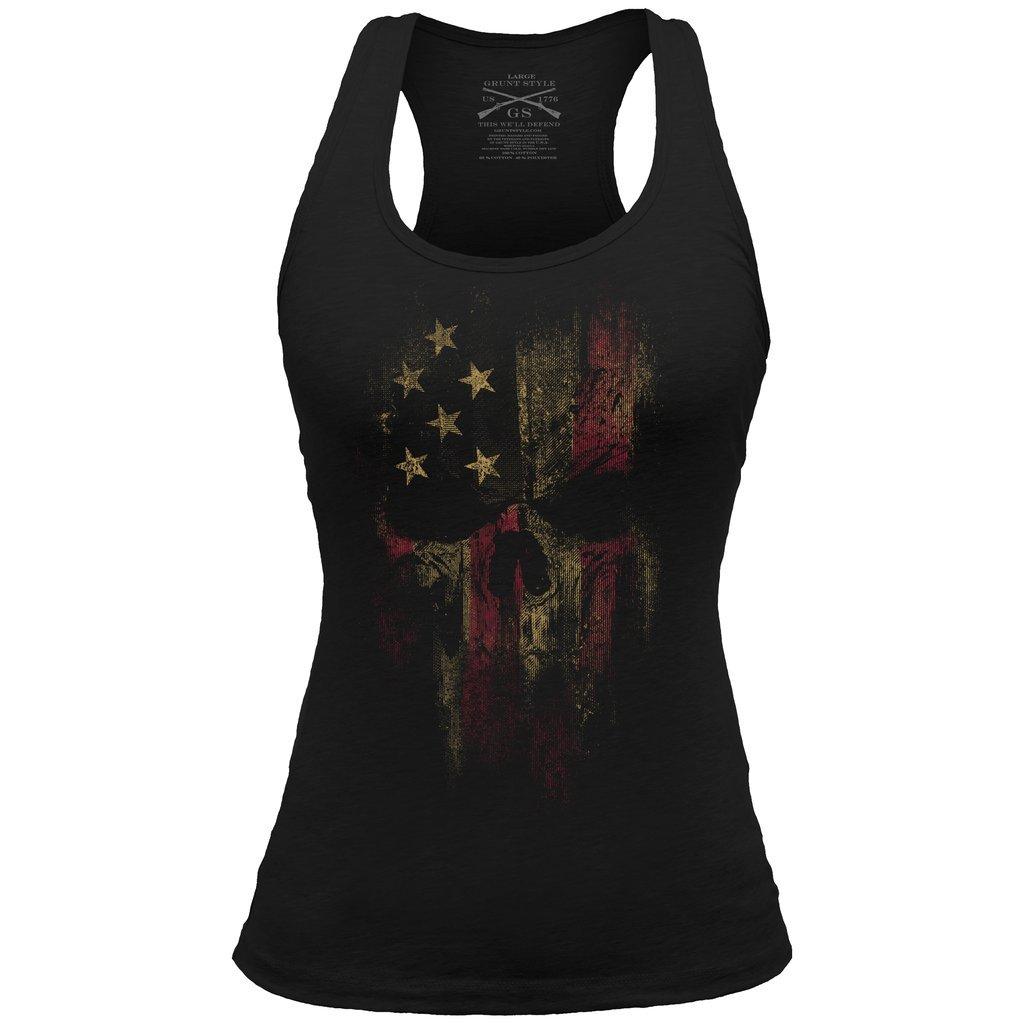 Grunt Style Reaper 2.0 Racerback Women's Tank Top, Color Black, Size L