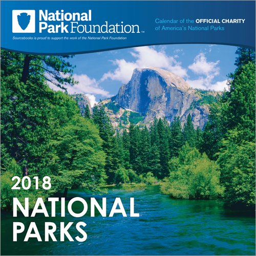 2018 National Park Foundation Wall Calendar