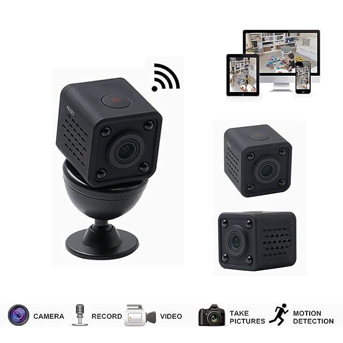 DOJA Barcelona | Mini Camara espia WiFi CONEXION REMOTA+ SD 16gb Incluida | Bateria 3,5h de Video | Camara Oculta con Detector de Movimiento y Vision ...