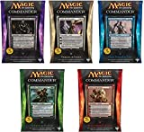 Commander 2014 – Complete Set of All 5 Decks – Magic the Gathering (MTG) thumbnail