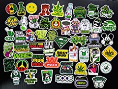 Cool Cute Car and Skateboard Stickers Decals Bumper Stickers, 52 Pieces About the product Size: 6-12cm, Material: PVC. Fashional bumper stickers, 100 not random pieces PVC stickers, totally worth. 100% brand new with sun protection and waterp...