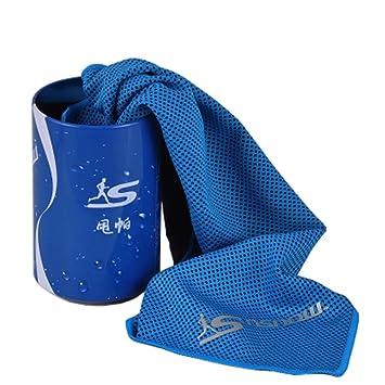 Toalla ligera de viaje de secado rápido con toalla Toallas deportivas con lata, # 05: Amazon.es: Deportes y aire libre