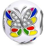 NinaQueen - Farfalla Sogno - Charms Bead da donna argento sterling 925
