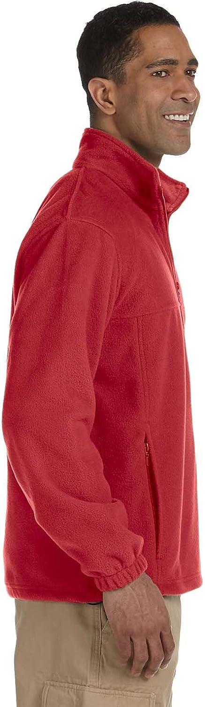 Harriton 8 oz Full-Zip Fleece M990