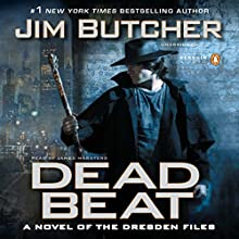 Dead Beat: The Dresden Files, Book 7 Audiobook by Jim Butcher Narrated by James Marsters