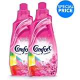 Comfort Concentrated Fabric Softener Orchid & Musk, 1.5 litres Twin Pack