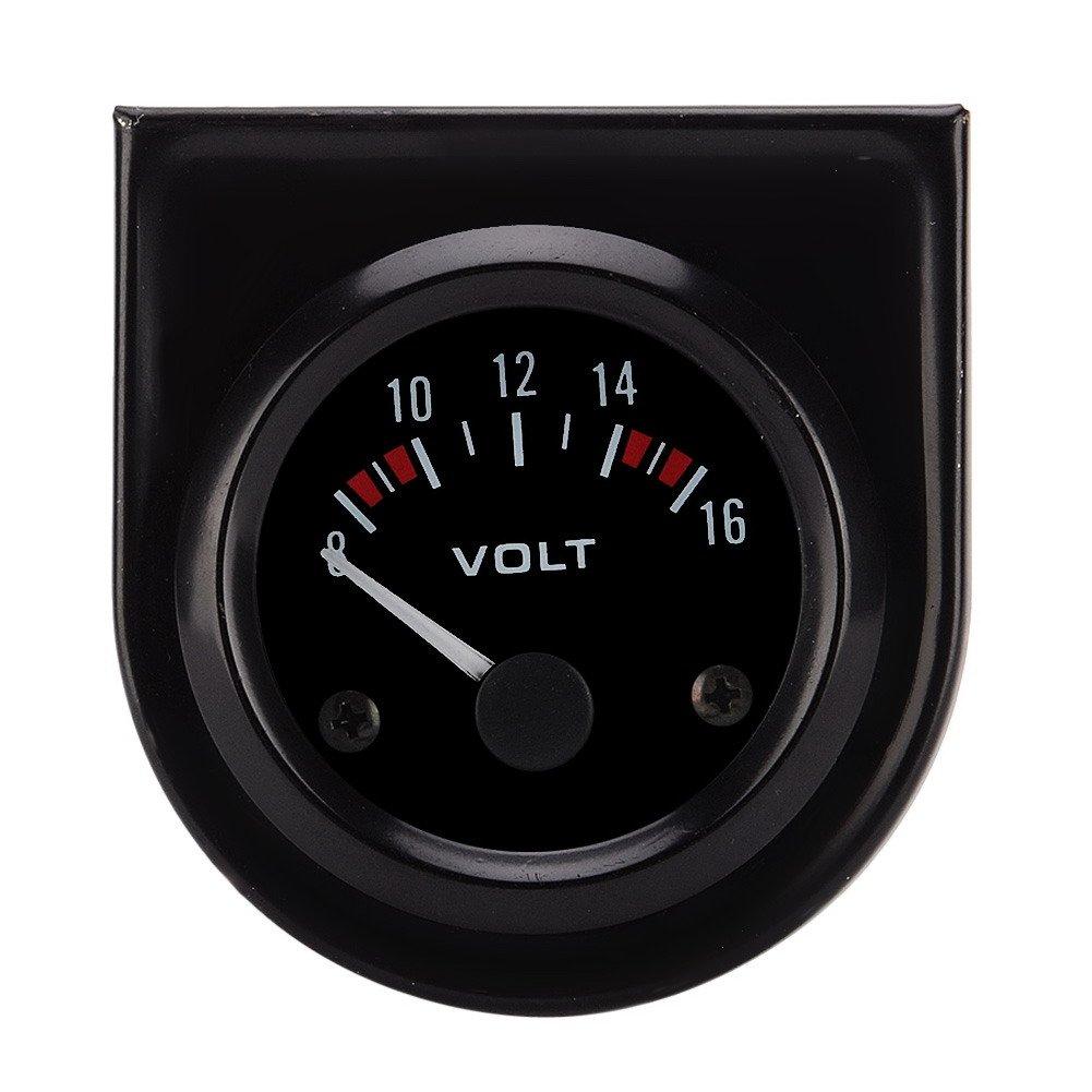 8-16 V 52 mm f/ür Auto Universal-Voltmeter