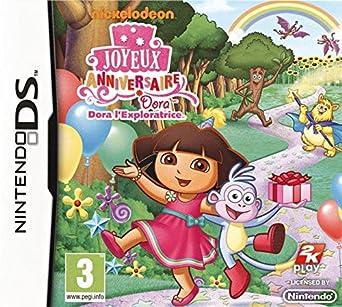 Dora Joyeux Anniversaire Amazon Fr Jeux Video