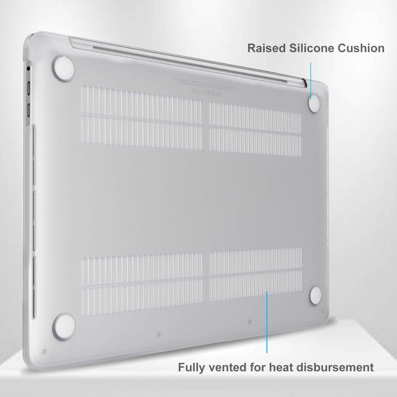Blu Scuro Modello: A2289 // A2251 Copertina rigida rivestita in gomma traslucida ultra sottile per MacBook Pro 2020 13,3 Pollici ProCase Custodia MacBook Pro 13 Pollici 2020 Cover