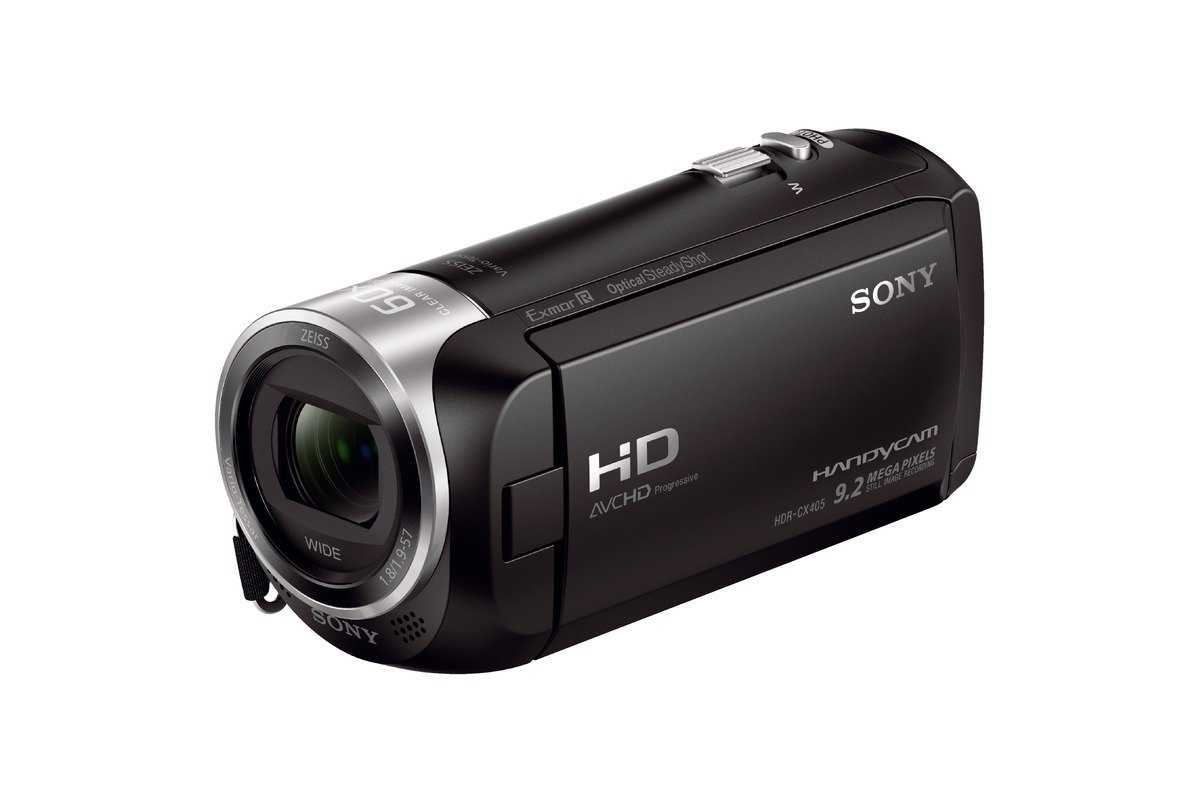 26a501accd9 Buy Sony HDRCX405 9.2MP HD Handycam Camcorder with Free Carrying Case  (Black) Online at Low Price in India