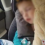 SSAWcasa Seat Belt Pillow for Kids 2 Pack,Kids