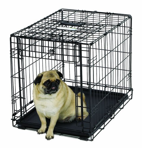 MidWest Homes for Pets Ovation Single Door Dog Crate, (Midwest Dog Crates With Divider)