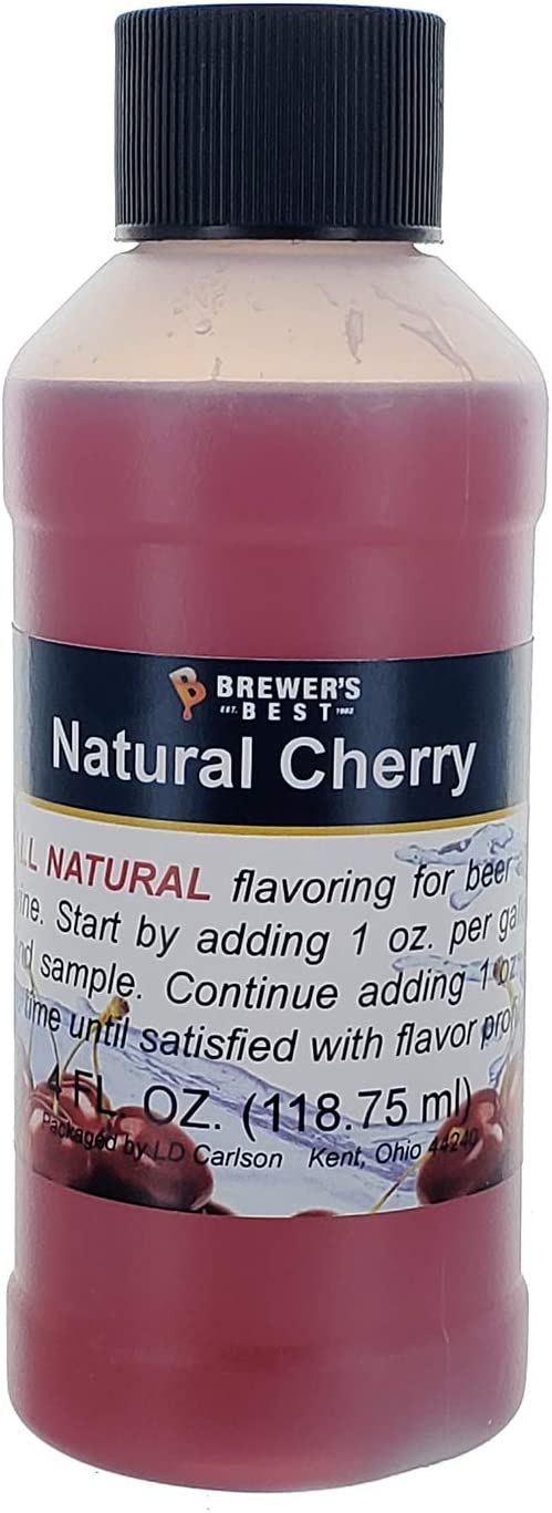 Brewer's Best Natural Beer and Wine Fruit Flavoring (Cherry)