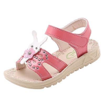 Voberry Enfants Garcons Filles Soft Chaussures Enfants Bebe Filles