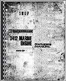 Caterpillar 3412 Engine Service Manual