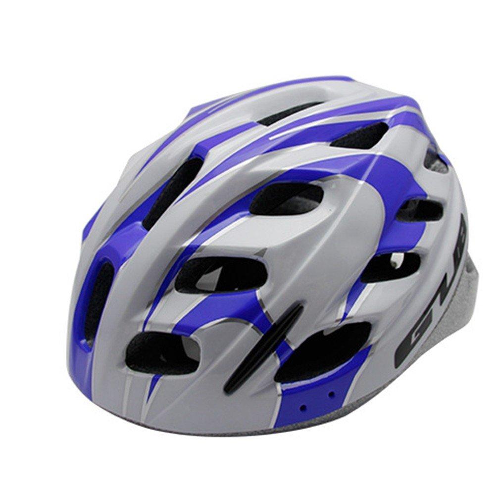 LOLIVEVE Casco da Bicicletta Casco Protettivo da Bambino Casco di Sicurezza Deep blu