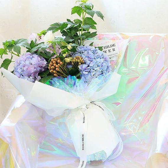 Flower Foil 50cm x 1000m Gift Wrap Crystal Film