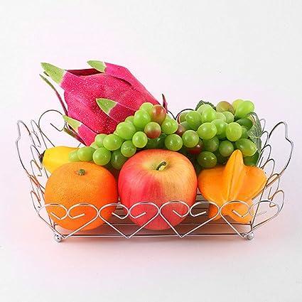 amazon com fruit plate iron fruit bowl basket andy unique tray