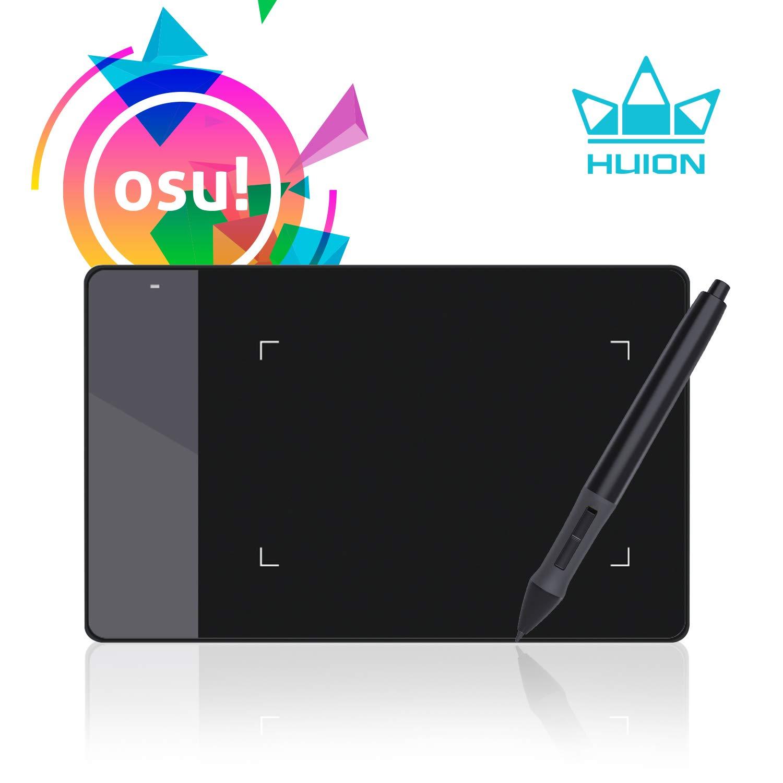 値引 HUION ペンタブレット ブラック HUION 420 OSU用 4×2インチ 4×2インチ ブラック B00DTPYWBG, ニッショクショップ:3a2c83fe --- nicolasalvioli.com