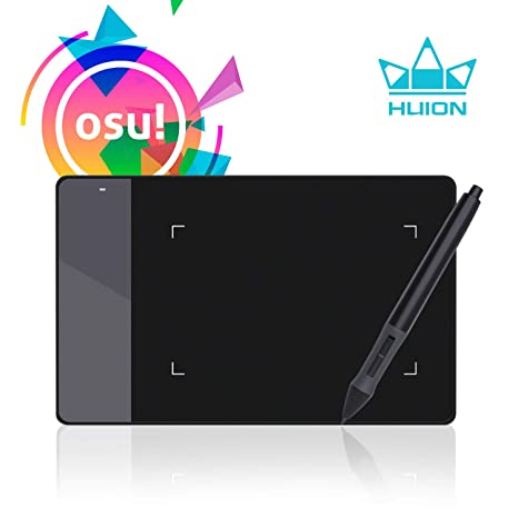 489a78bd8ee Amazon.com: Huion 4 x 2.23 Inches OSU Tablet Graphics Drawing Pen Tablet -  420: Computers & Accessories